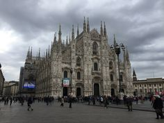 Tourist in stunning Milano