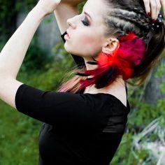 Dreadlocks, Halloween, Hair Styles, Handmade, Beauty, Jewelry, Hair Plait Styles, Jewels, Hairdos