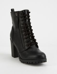 Women Boots Comfortable Boots Sexy Long Boots Cowboy Boots And Shorts Outfits High Brown Boots Outfits Black Heeled Combat Boots, Cute Combat Boots, Combat Boot Outfits, Black Wedge Boots, Black High Heels, High Heel Boots, Women's Boots, Black Lace Boots, Boot Heels