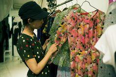Asian vintage fabrics