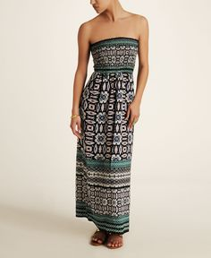 Angie Smocked Maxi Dress