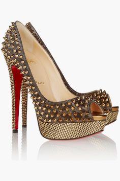 Magníficos zapatos de fiesta Christian Louboutin | Zapatos de moda 2015