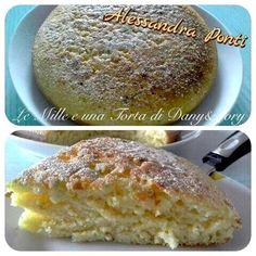Condividi la ricetta...Condividi la ricetta...RICETTA DI: ALESSANDRA PONTI Ingredienti: 200g di ricotta, 200g di zucchero, 200g di farina, 2 uova, 1 bicchiere di latte, 1 lievito per dolci, 1 vanillina, la buccia di un limone, diavoletti. Montare…