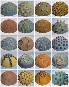 31 ideas for nature texture polymer clay Ceramic Pinch Pots, Ceramic Clay, Ceramic Pottery, Clay Pinch Pots, Pottery Bowls, Ceramic Plates, Polymer Clay Kunst, Polymer Clay Jewelry, Ceramics Projects
