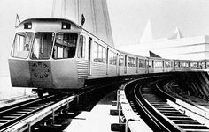 1967 monorail train from the Universal Expo Montreal Quebec, Quebec City, Niagara Falls Pictures, Toronto Subway, Sky Ride, Expo 67, Metro Subway, U Bahn, World's Fair