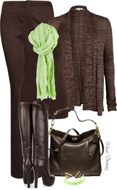 """""""Bitter chocolate with mint"""" by madamedeveria ❤ liked on Polyvore"""