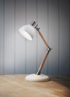 Ledbury Lamp in Porcelain