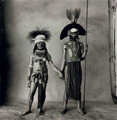 Irving Penn, Young Enga Couple (New Guinea), 1970, Jackson Fine Art