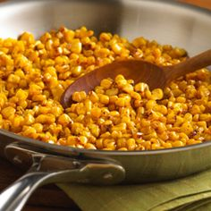 Pan Roasted Corn @ReadySetEat - would be wonderful for tacos, etc. or on it's own!