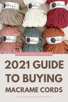 Find the best Macrame cord suppliers near you and save BIG on shipping costs + Discover the best local stockists to buy Macrame cords from popular brand Bobbiny! Updated for 2021! Macrame Cord Shops USA Macrame Cord Shops Australia Macrame Cord Shops Europe Macrame Cord Shops Asia