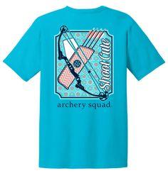 Archery Shirt Shoot Cute by Archery Squad by ArcherySquad on Etsy