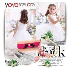 """www.yoyomelody.com"" by milica-simovic ❤ liked on Polyvore featuring Monsoon, yoyomelody and yoyomelodydress"