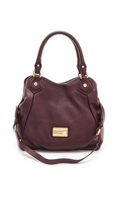 Marc By Marc Jacobs Classic Q Fran Bag - Cardamom Brown