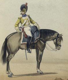 Dragones de Pavia 1815