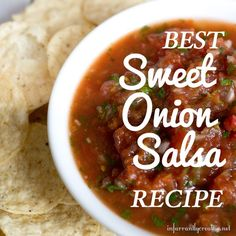 I LOVE salsa.  But it has to be good, fresh salsa. I love sweet salsa but don't love the mango or the peach kind.  I also don't like it spicy. I used to love the Sweet Onion Salsa from Aldi until a...