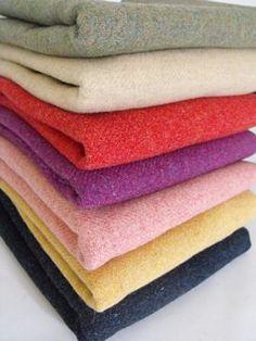 Yummy wool fabric