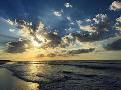 ***Sunrise in Charleston, SC.