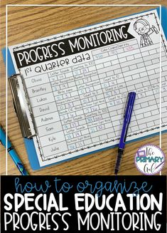 If you feel like your progress monitoring for your special education IEP goals is scattered and disorganized, this blog post is for you! In this post, I share how to organize your progress monitoring to make assessing your students on a regular basis quickly and easily.