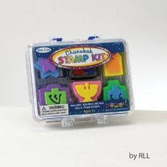 Chanukah Rubber Stamp Kit Craft for Children 5 stamps with ink pad:Amazon:Toys & Games