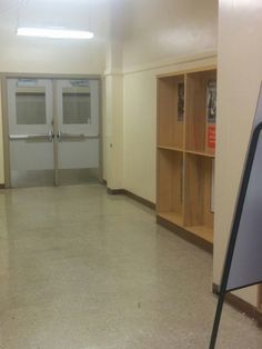 The redesigned Grant Library should have an entryway that opens immediately into the library classroom instead of stretching down a long hallway.