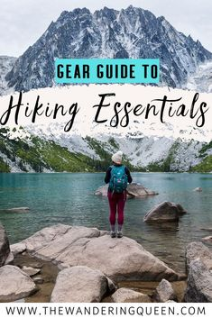 Gear Guide To Day Hiking Essentials - The Wandering Queen Packing Tips For Travel, Travel Guides, Packing Lists, Travel Hacks, Packing Checklist, Travel Goals, Budget Travel, Hiking Tips, Hiking Gear