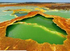 Le Dallol, Éthiopie