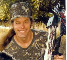 Can't have a Pinterest place for Dudes and not have a pic of hatemonger, Ted Nugent!