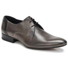 Richelieu Redskins WEITER Gris / Noir - Livraison Gratuite avec Spartoo.com ! - Chaussures Homme 109,90 €