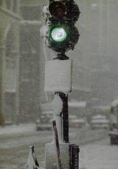 Saul Leiter: 'Green Light', 1955.