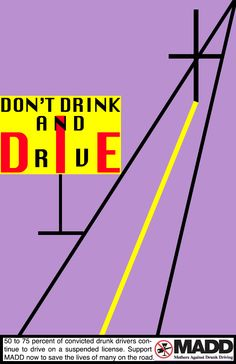 Designing A For-Cause Poster: Don't Drink And Drive: http://designuncensored.wordpress.com/2013/03/25/designing-a-for-cause-poster-dont-drink-and-drive/