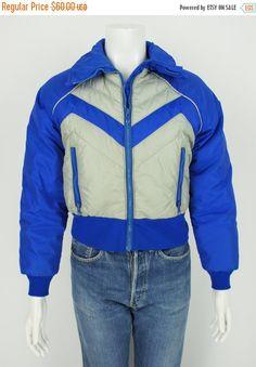 efe313aabe ON SALE Vintage 1970 s Alpine Designs Goose by foundationvintage Down Ski  Jacket