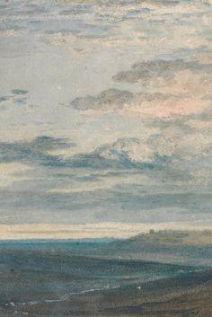 Dartmoor: The Source of the Tamar and the Torridge by J. M. Turner, C. 1813 (detail)