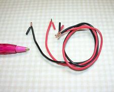 Miniature Jumper Cables for Dollhouse Garage