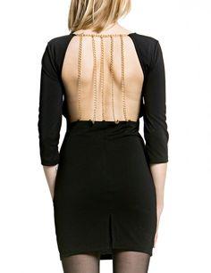 Rückenfreies Kleid - Partykleider - Kleider - Damen - MACHIMA