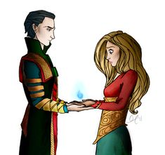 Loki and Sigyn being ridiculously cute.) Loki and Sigyn being adorbs Loki Thor, Loki Und Sigyn, Loki Art, Loki Marvel, Tom Hiddleston Loki, Loki Laufeyson, The Avengers, Norse Mythology, Marvel Memes