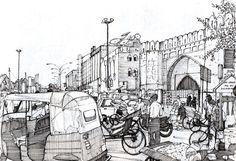 Turkoman Gate, Delhi by Edgeman13 on DeviantArt