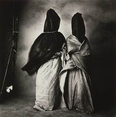 Irving Penn  - Guedras in the Wind -  1971