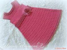 Resultado de imagen para campana mam crochet vestidos