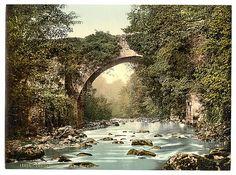 [The Dargle Bridge. County Wicklow, Ireland]