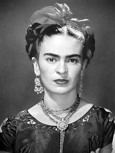 Frida Kahlo | Painter, born in Coyoacán, and is perhaps best known for her self-portraits. Kahlo's life began and ended in Mexico City, in her home known as the Blue House | Mexico | 1907 - 1954