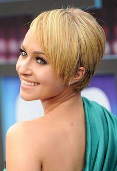cool Blonde Pixie Haircut: Hayden Panettiere Haar #Blonde #Haar #Haircut #Hayden #Panettiere #Pixie