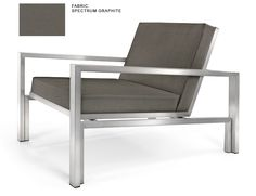 Case Study Stainless Lounge Chair - Modernica