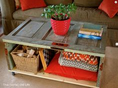 While They Snooze: 5 Great DIY Coffee Tables