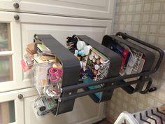 art supplies organized in IKEA cart. I want this cart so bad but I won't be able to keep my out of it! School Supplies Organization, Diy School Supplies, Craft Organization, Art Supplies, Organizing Crafts, Stationary Organization, Ikea Raskog Cart, Ikea Cart, Kids Craft Storage