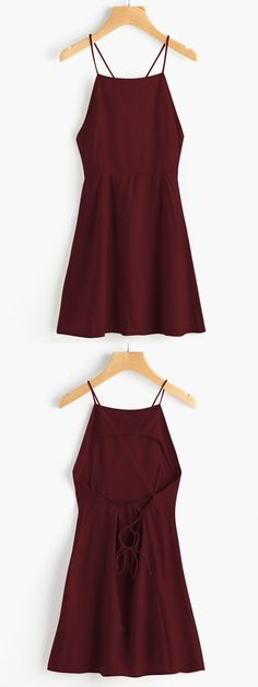 Cute Homecoming Dress, Criss Cross Homecoming Dress, Satin Homecoming Dress, Open Back Homecoming Dress, Shop plus-sized prom dresses for curvy figures and plus-size party dresses. Ball gowns for prom in plus sizes and short plus-sized prom dresses for Burgundy Homecoming Dresses, Hoco Dresses, Burgundy Dress, Trendy Dresses, Cute Dresses, Fashion Dresses, Dress Prom, Dress Lace, Homecoming Outfits