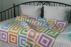 NEW Handmade Patchwork Throw Quilt/Childs by RedAmaryllisQuilts