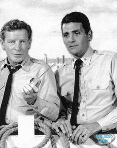 Richard Basehart and David Hedison