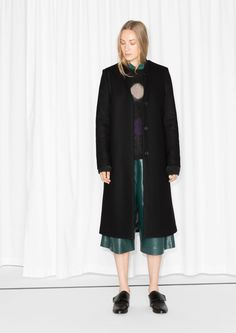 & Other Stories | Wool-Blend Coat