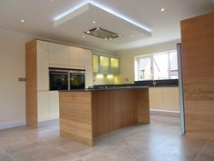 suspended ceiling with extractor fan over island - Google Search