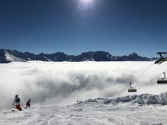 St Anton ski weekends provide arguably the best après ski in the world. This lively resort in the Arlberg ski region has a huge ski area on offer Ski Weekends, Above The Clouds, Austria, Mount Everest, Exploring, Skiing, Saints, Mountains, World